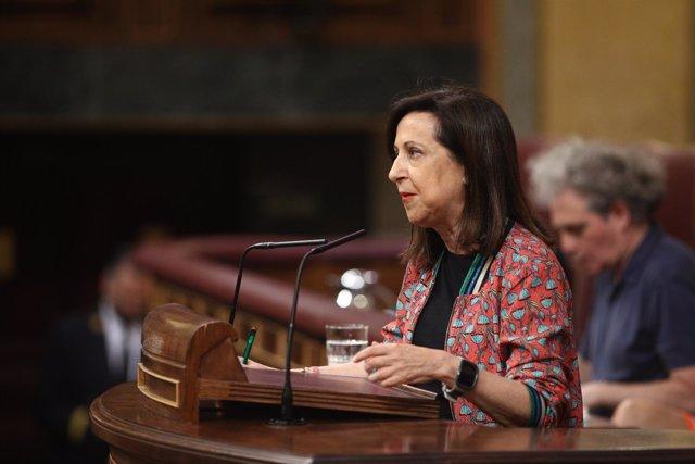 Margarita Robles interviene en el debate de la moción de censura