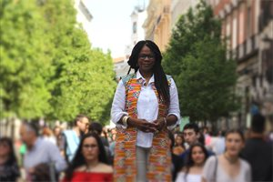 Consuelo Cruz, la colombiana negra que rompió el techo de cristal del Congreso español
