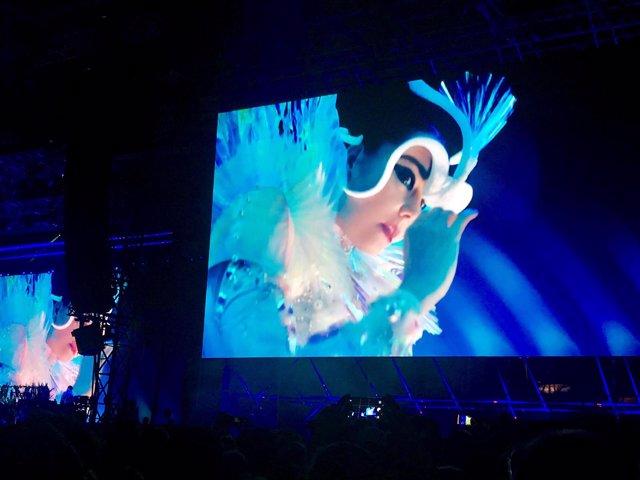 La cantante Björk en el Primavera Sound
