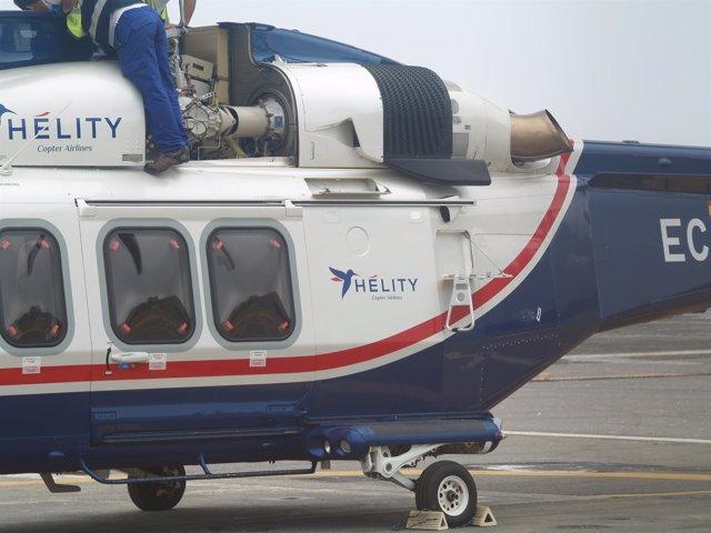 Helicóptero de Hélity
