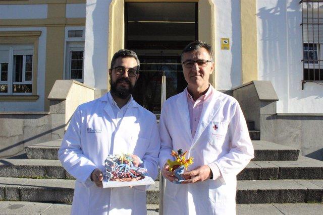 El doctor Jordi Broncano y el doctor Álvarez Kindelán.