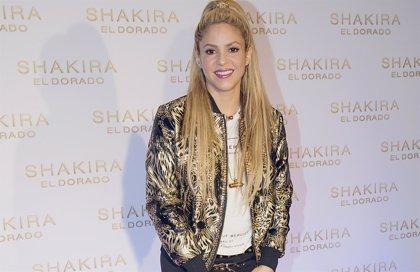 Shakira trabaja al 100% preparando su gira 'El Dorado'