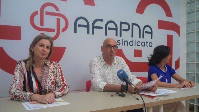 Juan Carlos Laboreo, presidente de Afapna