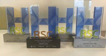 ML Hoteles, Hotel Barcelona 1882 y La isla y el mar, ganadores del IV Premio RSC Hotelera