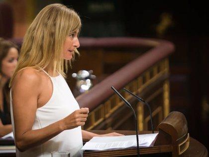 Un 'no' de Ciudadanos, primer voto de la moción de censura