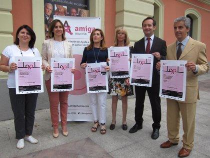 Amiga celebra este viernes la XII Fiesta Solidaria del Cáncer de Mama con lasactuaciones de The Swingers y Delvis Ramos