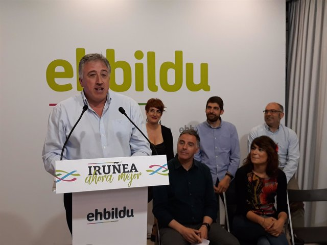 Joseba Asiron repetirá como candidato de EH Bildu en Pamplona