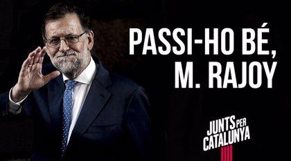 """JxCat tras la moción: """"Que usted lo pase bien M.Rajoy"""""""