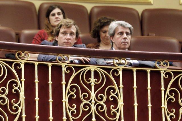 El presidente de la Comunidad de Madrid, Ángel Garrido, en el Congreso