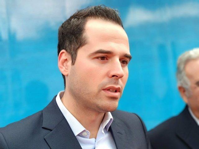 El portavoz de Cs en la Asamblea, Ignacio Aguado