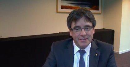 """Puigdemont pide justicia y no venganza: """"Hoy aún no podemos celebrar nada"""""""