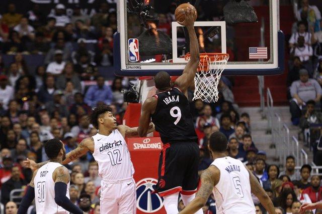 Serge Ibaka En El Toronto Raptors - Washington Wizards