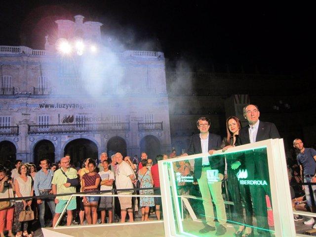 Inauguración de la pasada edición del festival.