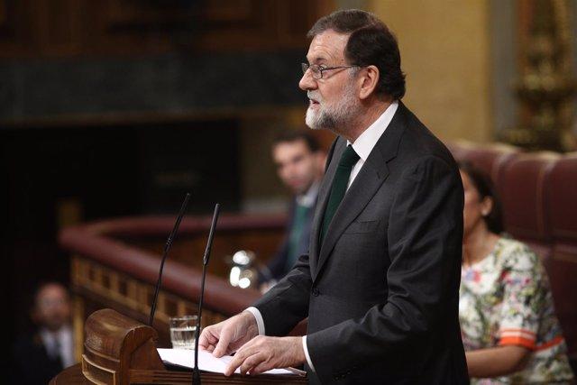 Rajoy se despide en su última intervención antes de votarse la moción