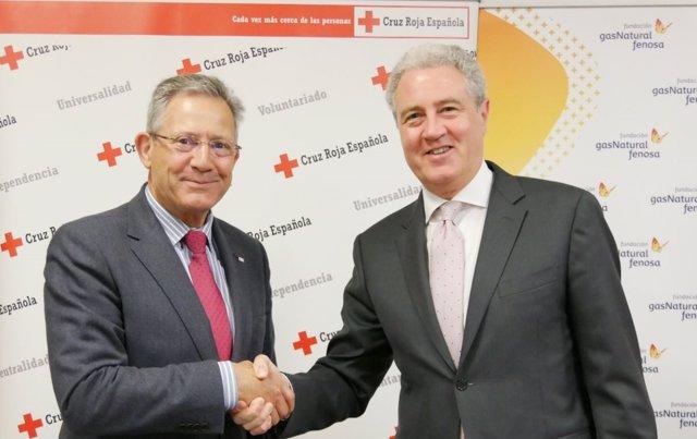 Fundación Gas Natural Fenosa y Cruz Roja Española renuevan convenio