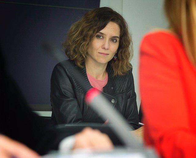 La portavoz del PP de Madrid, Isabel Díaz Ayuso.