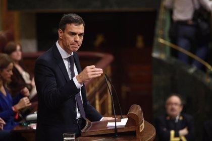 """Primeras declaraciones de Pedro Sánchez tras ser investido: promete """"consenso"""", """"humildad"""" y """"entrega"""""""