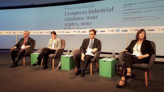 Ignasi Biosca, Inka Guixà, Francesc Rubiralta y Teresa García-Milà
