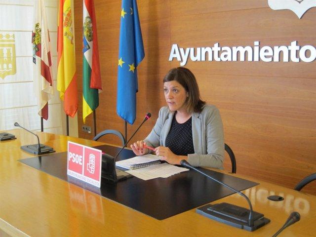 La concejal del PSOE, María Marrodán