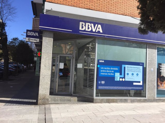 Oficina del banco BBVA