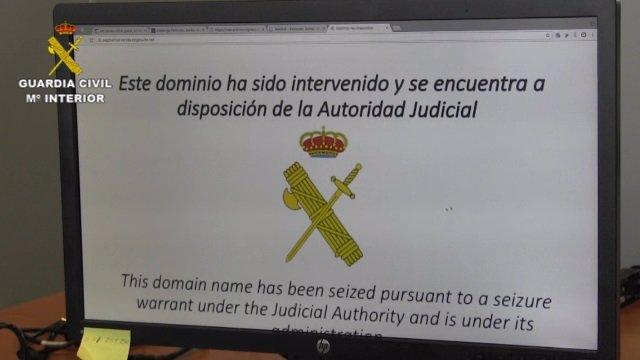 Operación de cierre de dominios en Internet