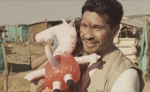 David DeMaría en Guajira (Colombia)