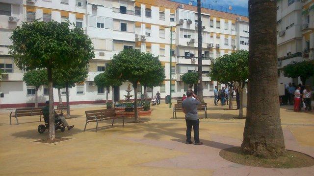 La plaza de la Papachina luce ya remozada