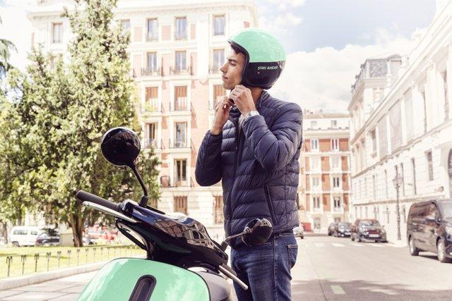 Servicio de motos compartidas de Bosch. Coup