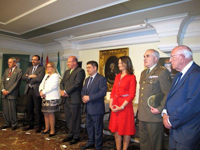 Inauguración del congreso internacional de reales sociedades económicas del país