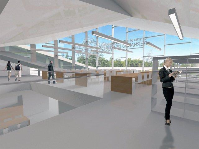 Proyecto del Centro Bernardo de Gálvez interior