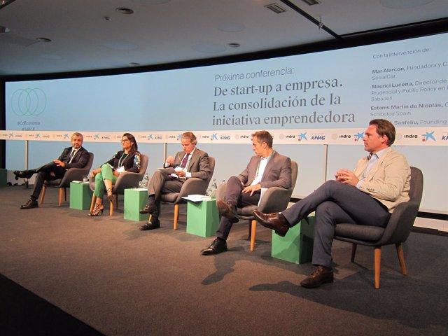 Enric Lucena, Mar Alarcón, Javier Faus, Estanis Martín Y Josep Lluís Sanfeliu