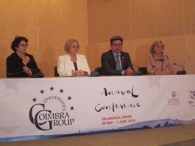 Efren Yildiz informa de las conclusiones del Grupo Coimbra