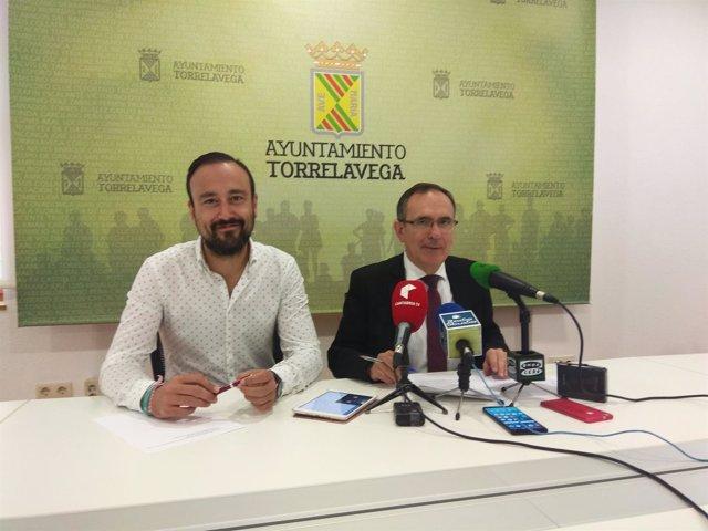 Javier López Estrada y José Manuel Cruz Viadero