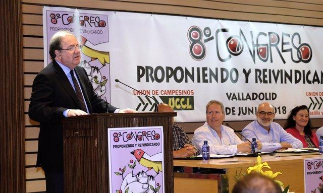 Herrera en el 8º Congreso de UCCL 1/6/2018