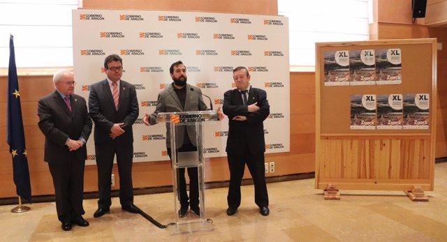Presentación del XL Encuentro de Comunidades Aragonesas en el Exterior.