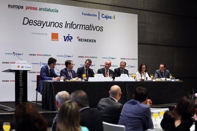 Presentación de La Vuelta en Málaga