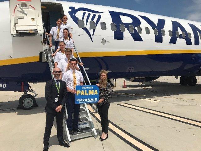 Fwd: Np Ryanair Inaugura Su Nueva Ruta Entre Zaragoza Y Palma