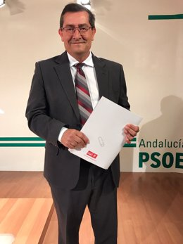 El secretario general del PSOE de Granada, José Entrena.