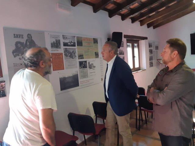 El vicepresidente de Diputación, Juan Carlos Ruix Boix