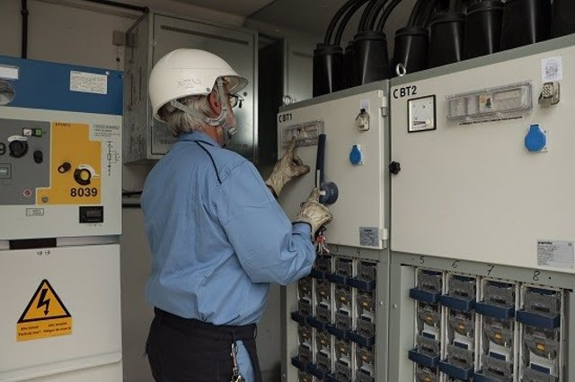 Centro de transformación eléctrica de Endesa