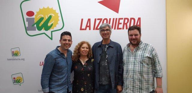 Reunión entre IU e Izquierda Andalucista