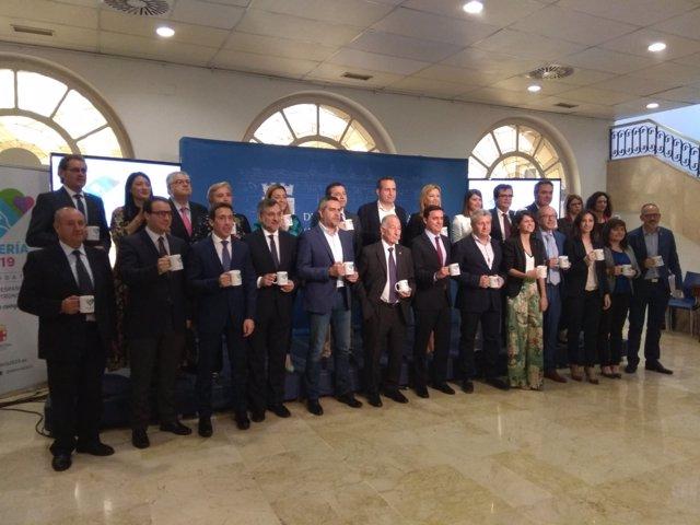 Los diputados provinciales apoyan la candidatura de Almería 2019