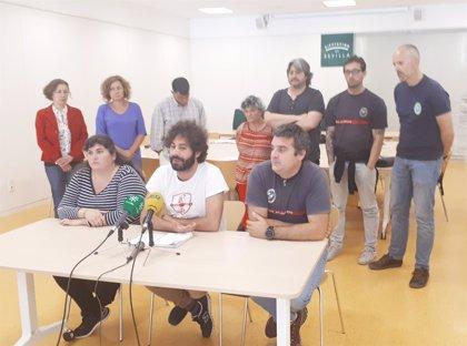 """Participa reclama que la Diputación """"duplique"""" en 2019 su aportación a los bomberos del Aljarafe"""