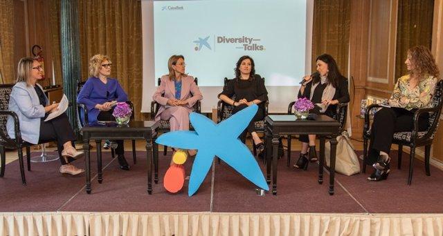 Reunión de directivas en Milán organizada por CaixaBank