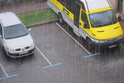 Activado el aviso por precipitaciones intensas para este sábado