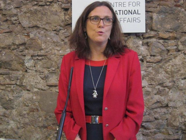 Cecilia Malmström, comisaria europea de Interior, en una foto de archivo.