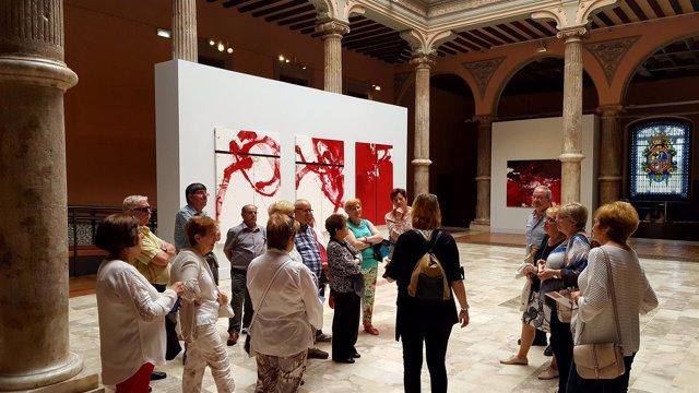 Ndp. La Dpz Amplía Hasta El 10 De Junio La Exposición De Luis Feito En El Palaci