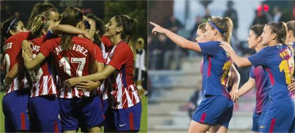 Barça y Atlético de Madrid buscan una Copa de la Reina que decante el pulso