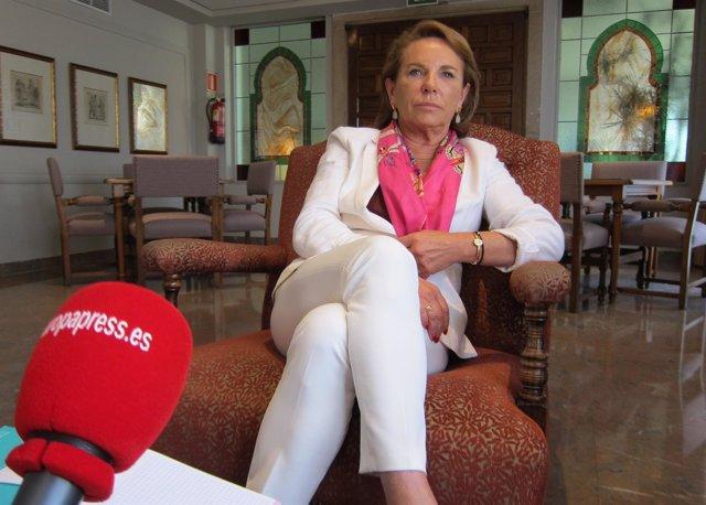 La directora gerente del Grupo Quirónsalud en Andalucía, Pilar Serrano