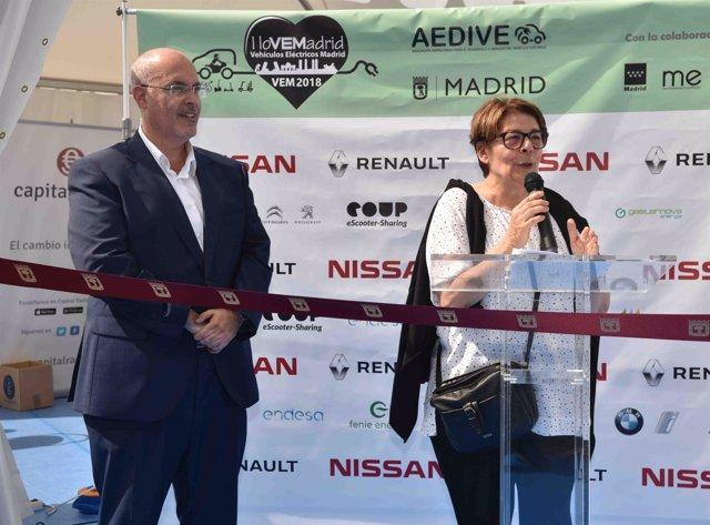 La delegada de Medio Ambiente y Movilidad, Inés Sabanés,
